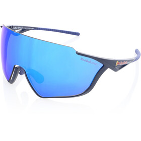 Red Bull SPECT Pace Lunettes de soleil, matte blue/smoke-blue